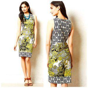 ANTHRO WESTON WEAR USA Retro Floral Boho Dress